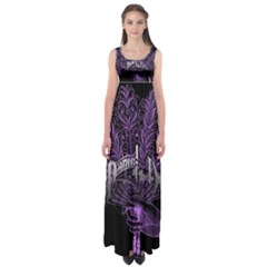 Panic At The Disco Empire Waist Maxi Dress