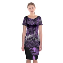 Panic At The Disco Classic Short Sleeve Midi Dress