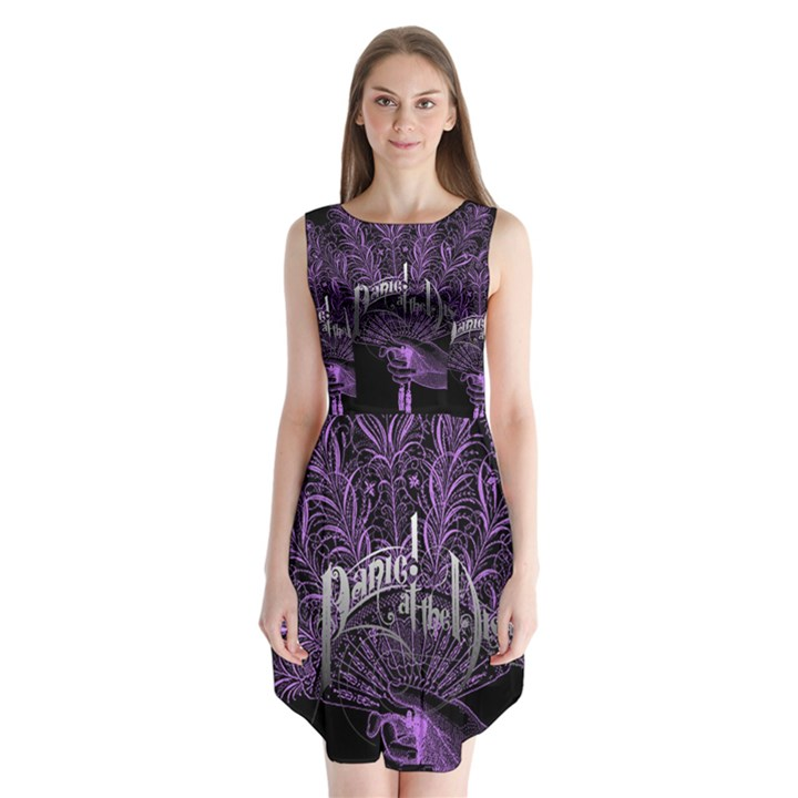 Panic At The Disco Sleeveless Chiffon Dress