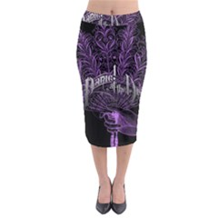 Panic At The Disco Midi Pencil Skirt