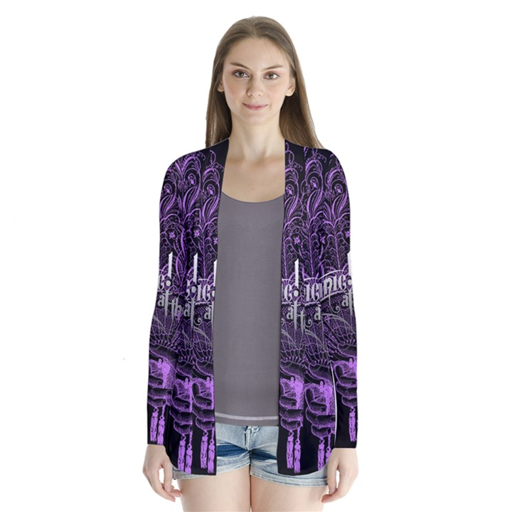 Panic At The Disco Drape Collar Cardigan