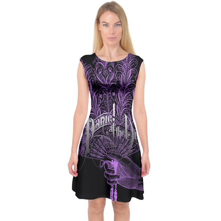 Panic At The Disco Capsleeve Midi Dress