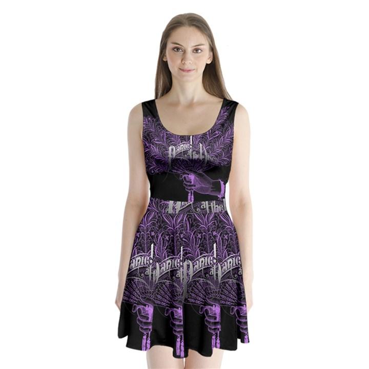 Panic At The Disco Split Back Mini Dress