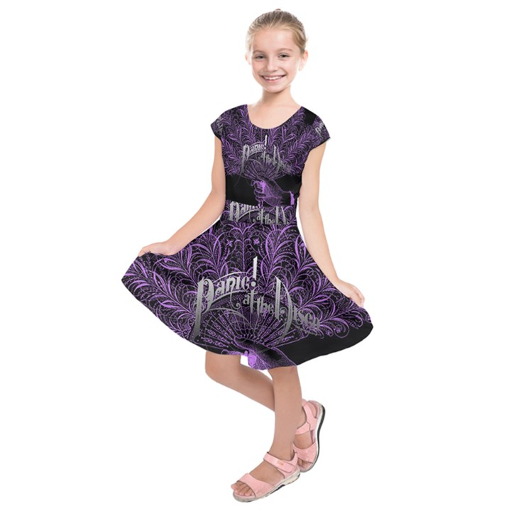 Panic At The Disco Kids  Short Sleeve Dress