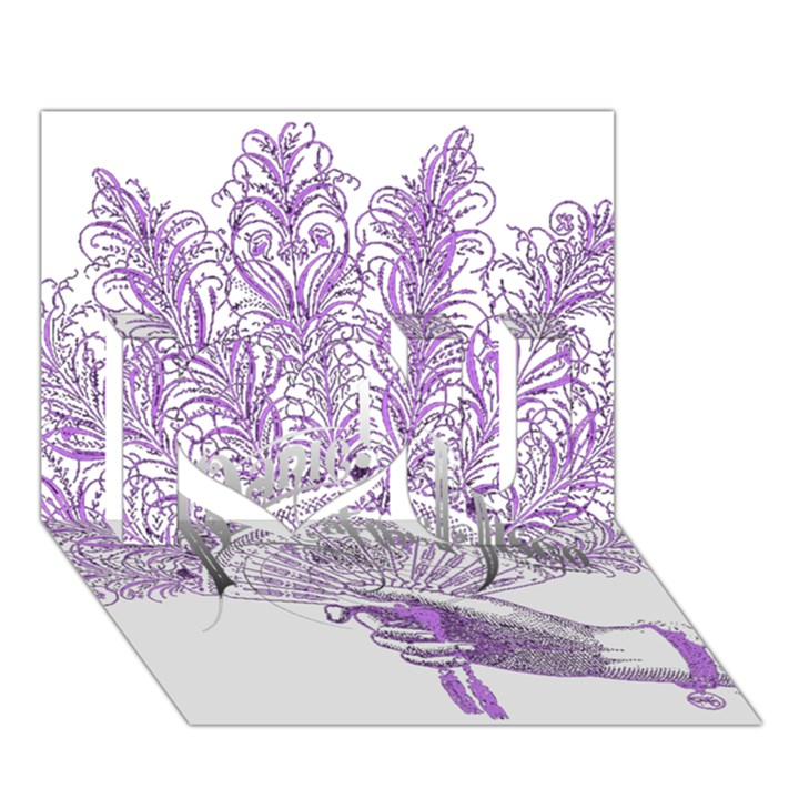 Panic At The Disco I Love You 3D Greeting Card (7x5)