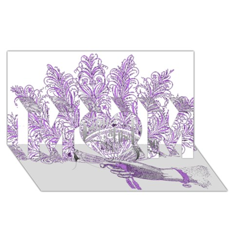 Panic At The Disco MOM 3D Greeting Card (8x4)