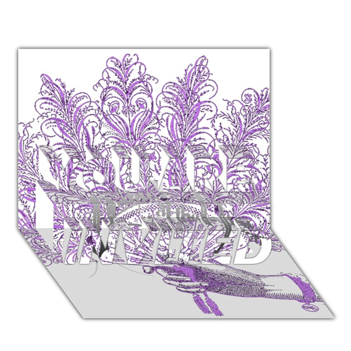 Panic At The Disco YOU ARE INVITED 3D Greeting Card (7x5)