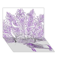Panic At The Disco Clover 3D Greeting Card (7x5)