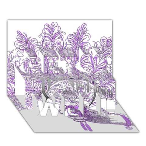 Panic At The Disco Get Well 3D Greeting Card (7x5)
