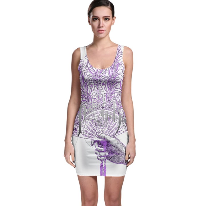 Panic At The Disco Sleeveless Bodycon Dress