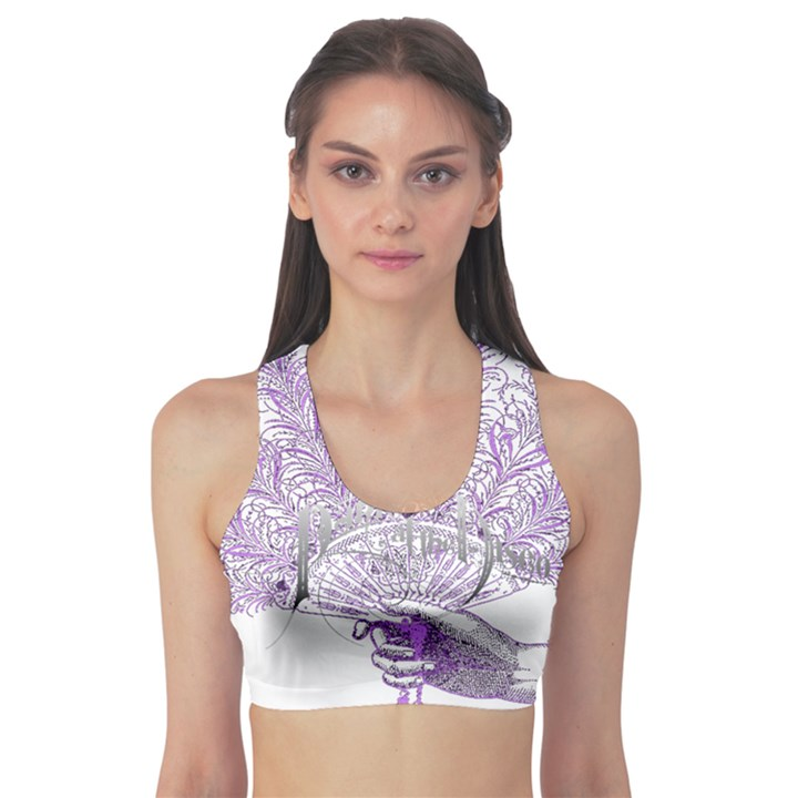 Panic At The Disco Sports Bra
