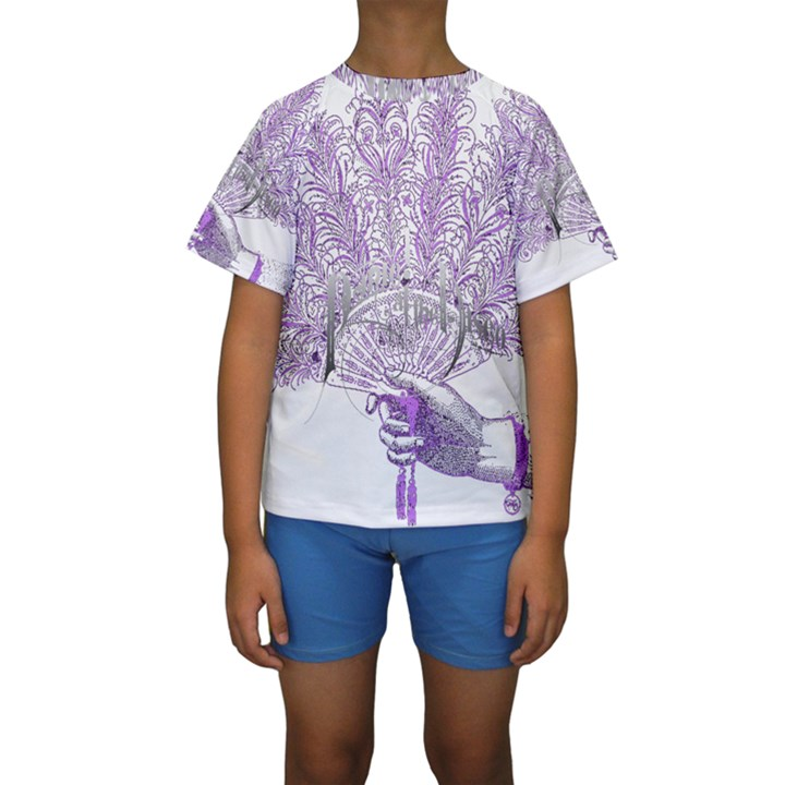 Panic At The Disco Kids  Short Sleeve Swimwear