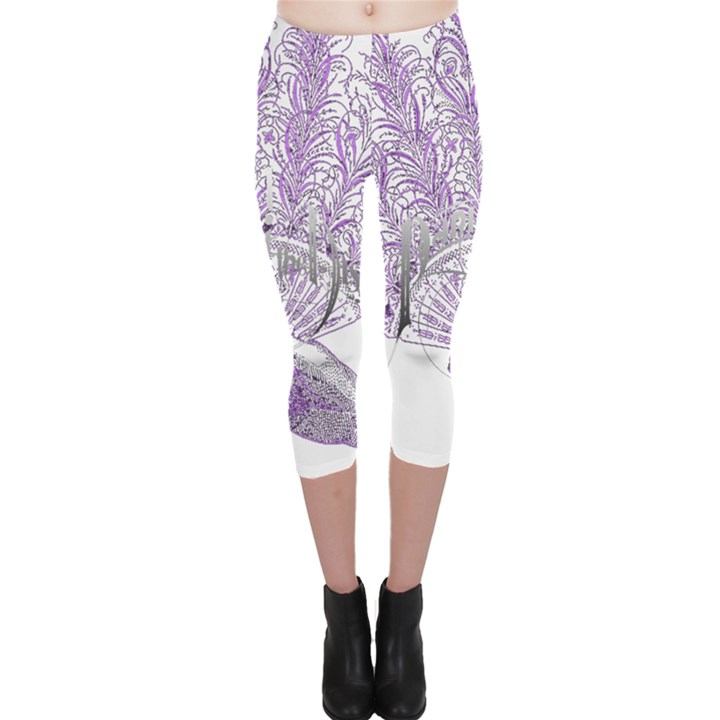 Panic At The Disco Capri Leggings