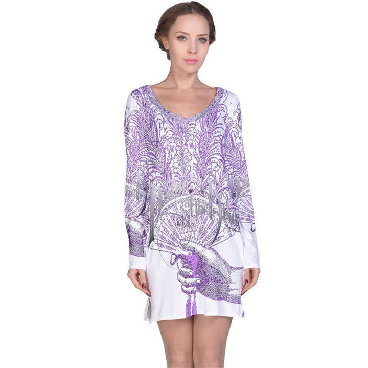 Panic At The Disco Long Sleeve Nightdress