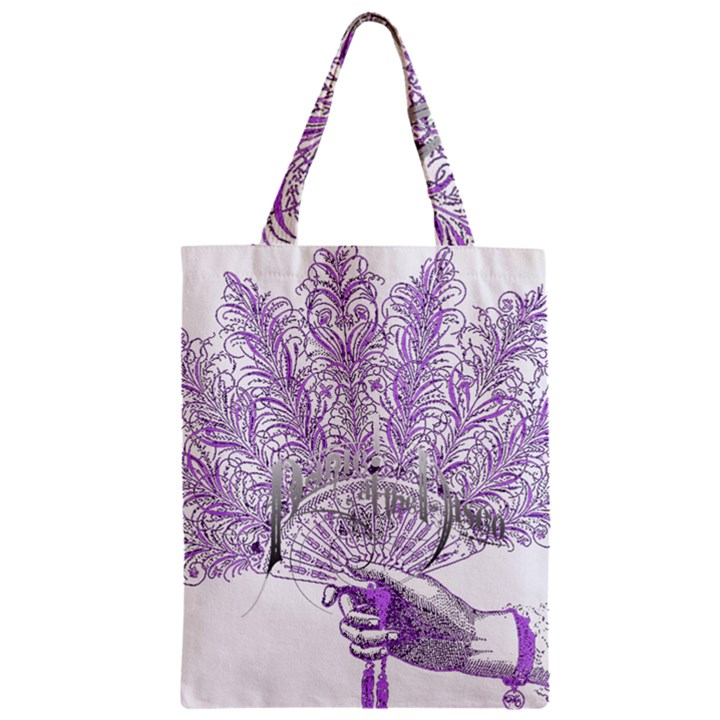 Panic At The Disco Zipper Classic Tote Bag