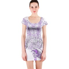 Panic At The Disco Short Sleeve Bodycon Dress