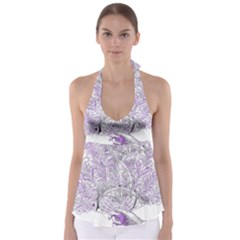 Panic At The Disco Babydoll Tankini Top