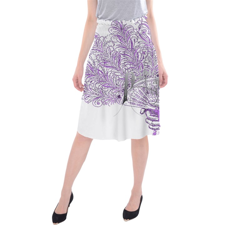 Panic At The Disco Midi Beach Skirt