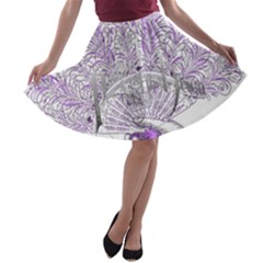 Panic At The Disco A Line Skater Skirt