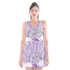 Panic At The Disco Scoop Neck Skater Dress