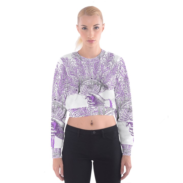 Panic At The Disco Women s Cropped Sweatshirt