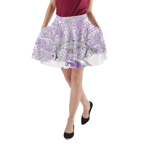 Panic At The Disco A-Line Pocket Skirt