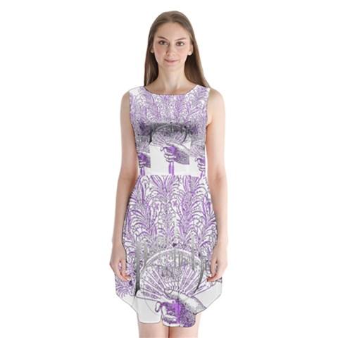 Panic At The Disco Sleeveless Chiffon Dress