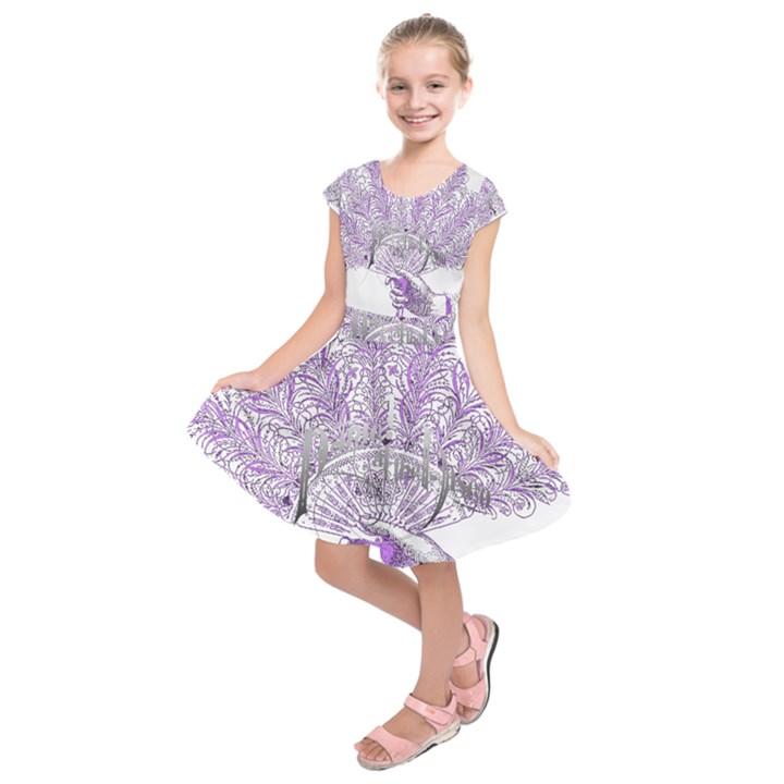 Panic At The Disco Kids  Short Sleeve Dress