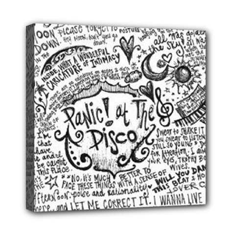 Panic! At The Disco Lyric Quotes Mini Canvas 8  X 8