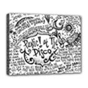 Panic! At The Disco Lyric Quotes Canvas 14  x 11  View1