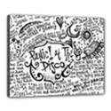 Panic! At The Disco Lyric Quotes Canvas 20  x 16  View1