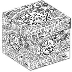 Panic! At The Disco Lyric Quotes Storage Stool 12