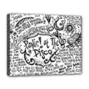 Panic! At The Disco Lyric Quotes Deluxe Canvas 20  x 16   View1