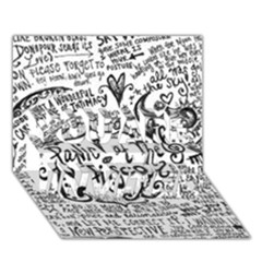 Panic! At The Disco Lyric Quotes You Are Invited 3d Greeting Card (7x5)