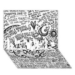 Panic! At The Disco Lyric Quotes HOPE 3D Greeting Card (7x5)