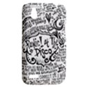 Panic! At The Disco Lyric Quotes HTC Desire V (T328W) Hardshell Case View2