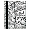 Panic! At The Disco Lyric Quotes Samsung Galaxy Tab 10.1  P7500 Flip Case View2
