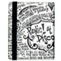 Panic! At The Disco Lyric Quotes Samsung Galaxy Tab 8.9  P7300 Flip Case View3