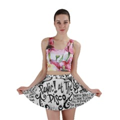 Panic! At The Disco Lyric Quotes Mini Skirt