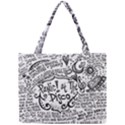 Panic! At The Disco Lyric Quotes Mini Tote Bag View1