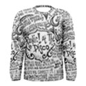 Panic! At The Disco Lyric Quotes Men s Long Sleeve Tee View1