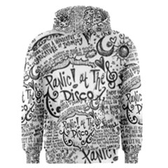 Panic! At The Disco Lyric Quotes Men s Pullover Hoodie