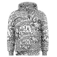 Panic! At The Disco Lyric Quotes Men s Zipper Hoodie