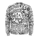 Panic! At The Disco Lyric Quotes Men s Sweatshirt View1