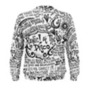 Panic! At The Disco Lyric Quotes Men s Sweatshirt View2