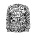 Panic! At The Disco Lyric Quotes Women s Sweatshirt View1