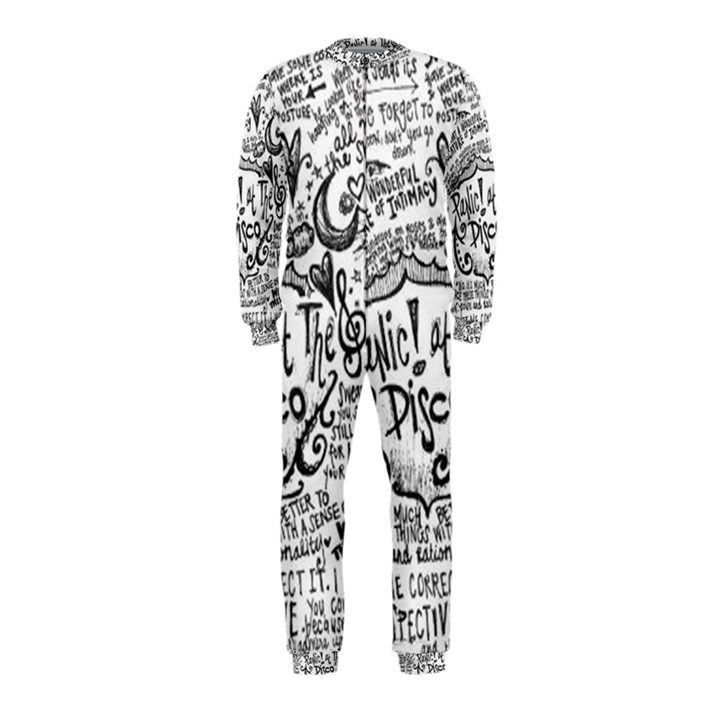 Panic! At The Disco Lyric Quotes OnePiece Jumpsuit (Kids)