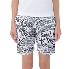 Panic! At The Disco Lyric Quotes Women s Basketball Shorts