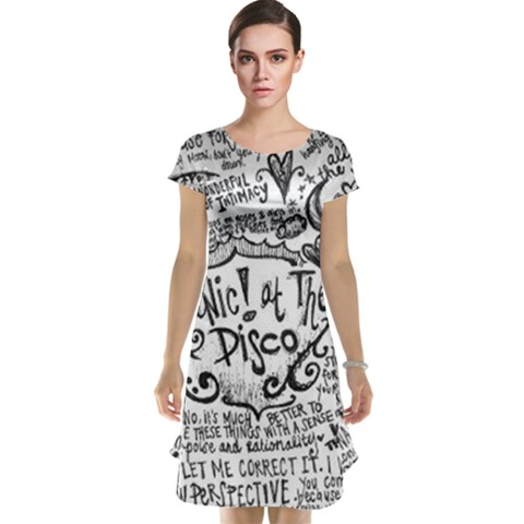 Panic! At The Disco Lyric Quotes Cap Sleeve Nightdress