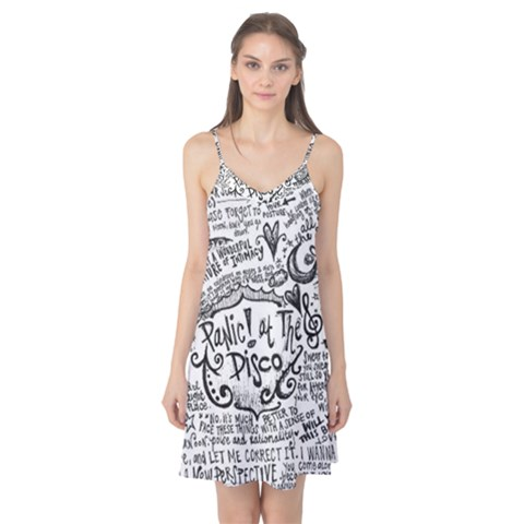 Panic! At The Disco Lyric Quotes Camis Nightgown
